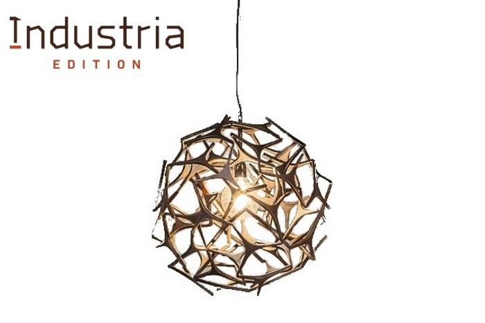 Hanging lamp starburst metal haans lifestyle